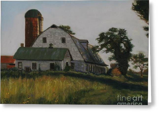 The Old Farm In Fredrick Maryland Greeting Card
