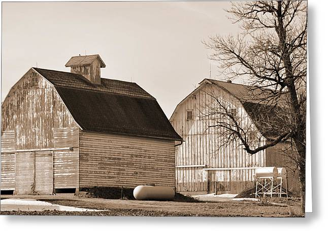 Greeting Card featuring the photograph The Old Farm by Kirt Tisdale