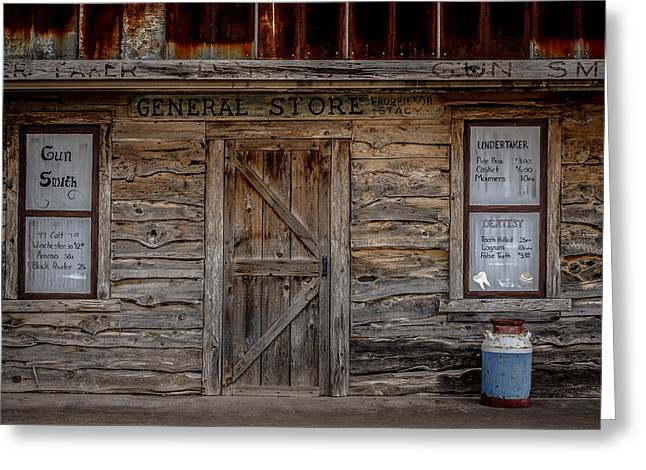 The Old General Store Greeting Card