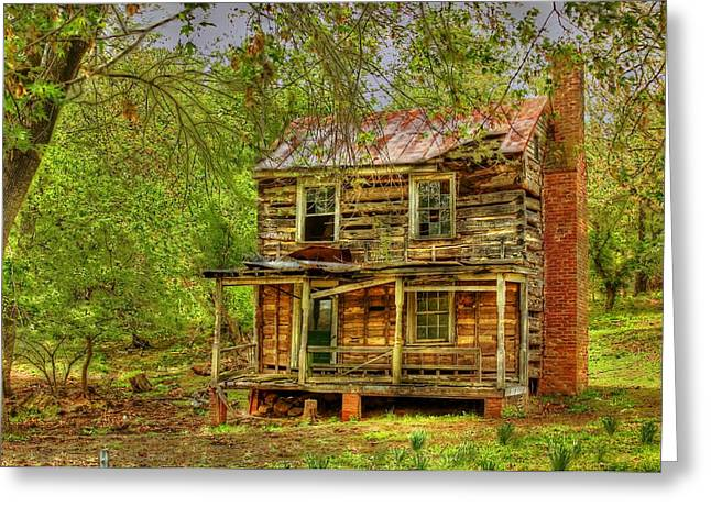 The Old Home Place Greeting Card by Dan Stone