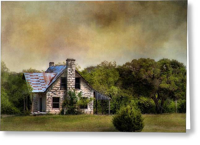 The Old Home Place Greeting Card by David and Carol Kelly