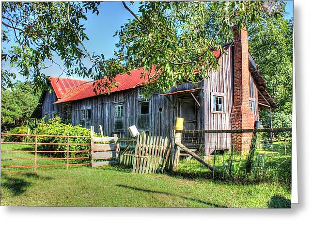 Greeting Card featuring the photograph The Old Home Place by Lanita Williams