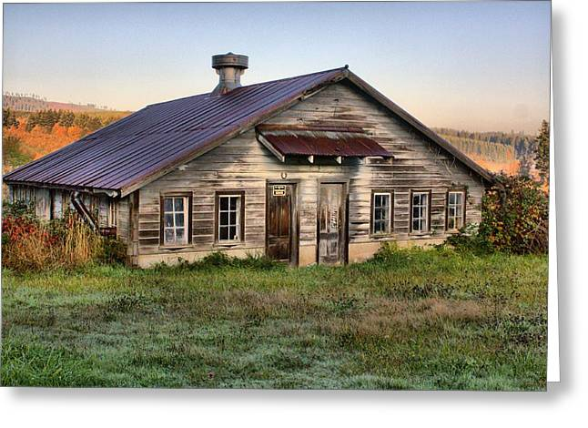 The Old Homestead Greeting Card by Melody Madsen