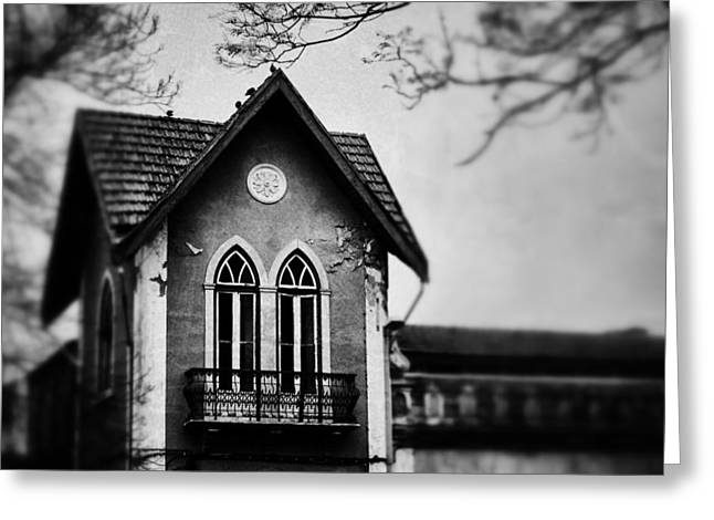 The Old House Greeting Card by Marco Oliveira