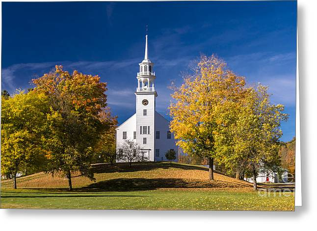 The Old Meeting House. Greeting Card