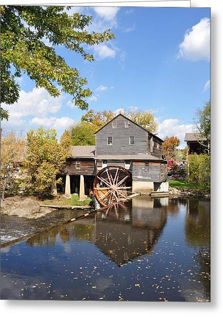 The Old Mill - Lazy Summer Day Greeting Card by John Saunders