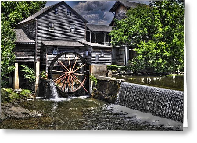 The Old Mill Restaurant Greeting Card