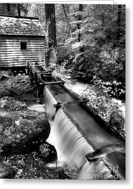 The Old Mill Trough  Greeting Card by Paul W Faust -  Impressions of Light