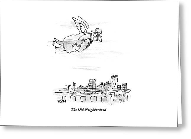 The Old Neighborhood Greeting Card