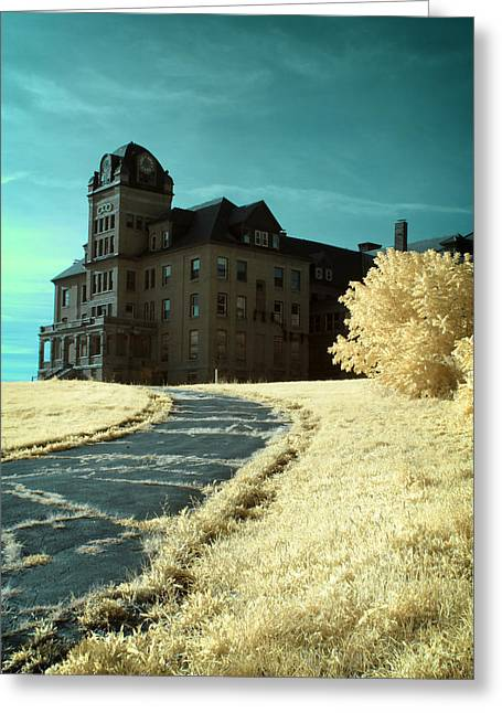 The Old Odd Fellows Home Color Greeting Card by Luke Moore
