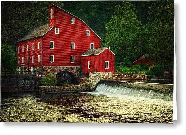 The Old Red Mill Greeting Card
