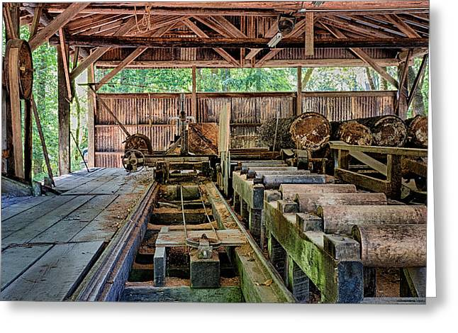 The Old Sawmill Greeting Card