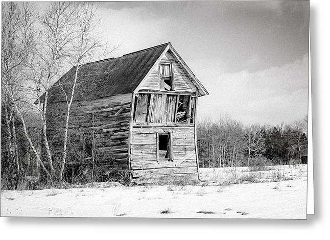 The Old Shack Greeting Card by Gary Heller