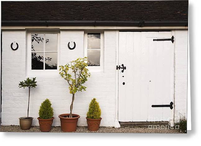 The Old Shed Greeting Card by Louise Heusinkveld