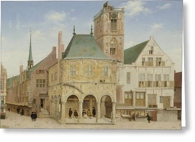The Old Town Hall Of Amsterdam, The Netherlands Greeting Card