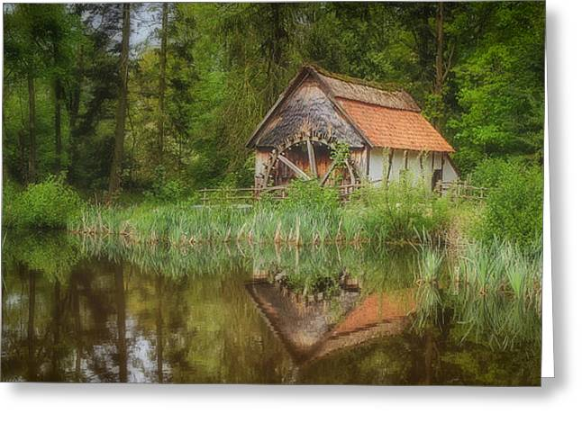 The Old Watermill Greeting Card by Gigi Embrechts