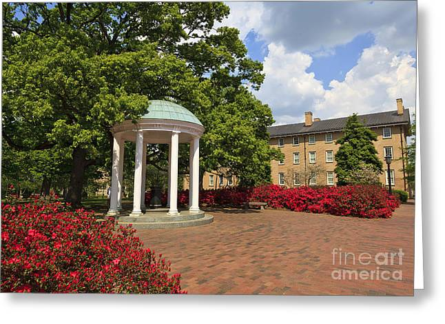 The Old Well At Chapel Hill Campus Greeting Card