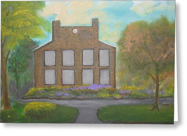 The Old White County Court House. Greeting Card by Robert Reily