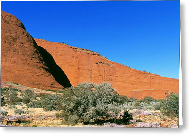 The Olgas, Australia Greeting Card by Panoramic Images