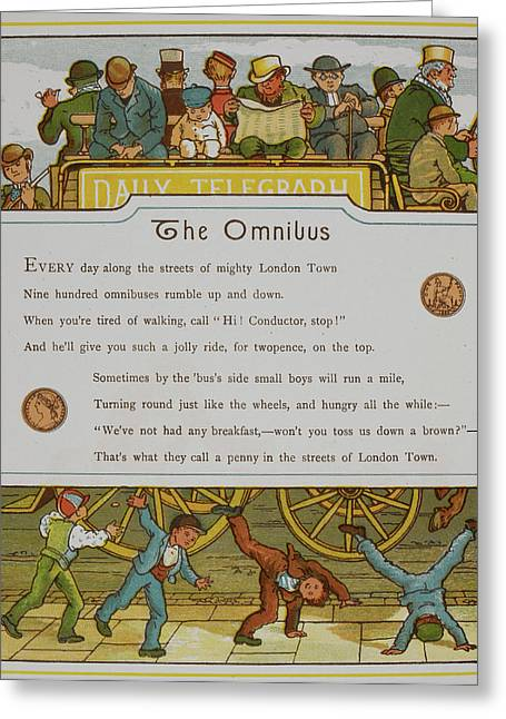 The Omnibus Greeting Card