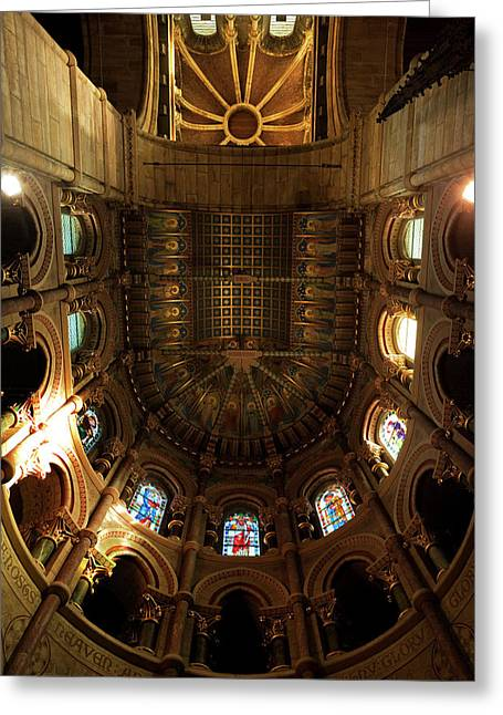The Ornate Ceiling,st Finn Barres Greeting Card
