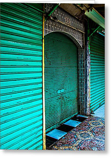 The Other Colors Of Marrakech Greeting Card