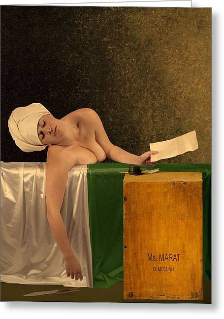 The Other Marat Greeting Card