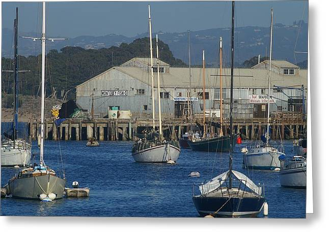 The Other Wharf Greeting Card