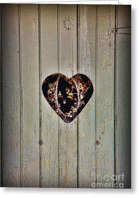 The Outhouse Of Amore Greeting Card by Lee Dos Santos