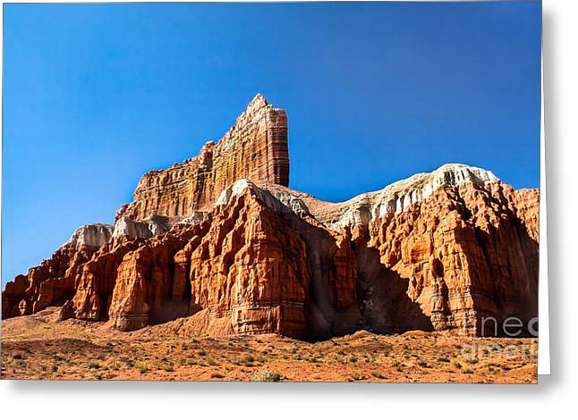 The Outpost Rock Greeting Card by Robert Bales