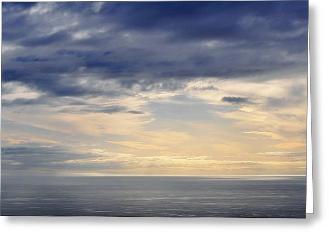 Greeting Card featuring the photograph The Pacific Coast by Kyle Hanson