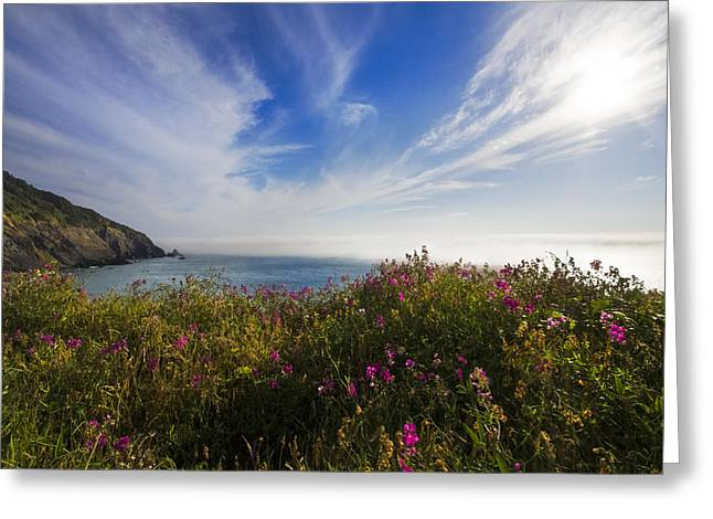 The Pacific Coastline Greeting Card