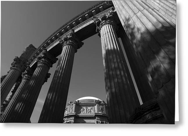 The Palace Of Fine Arts In San Francisco Greeting Card