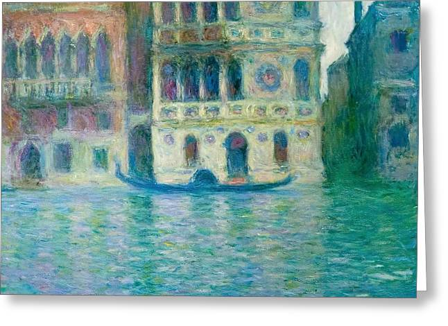 The Palazzo Dario - Venice Greeting Card
