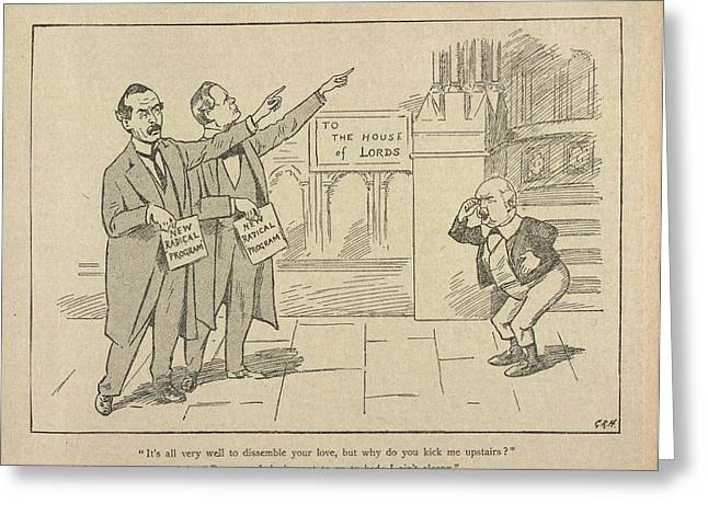 The Pall Mall Gazette Greeting Card by British Library