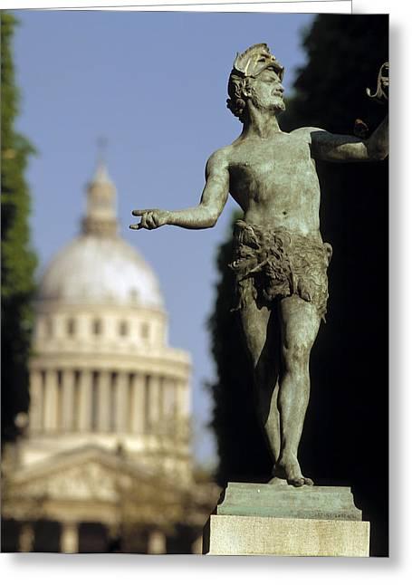 The Pantheon Paris France Greeting Card