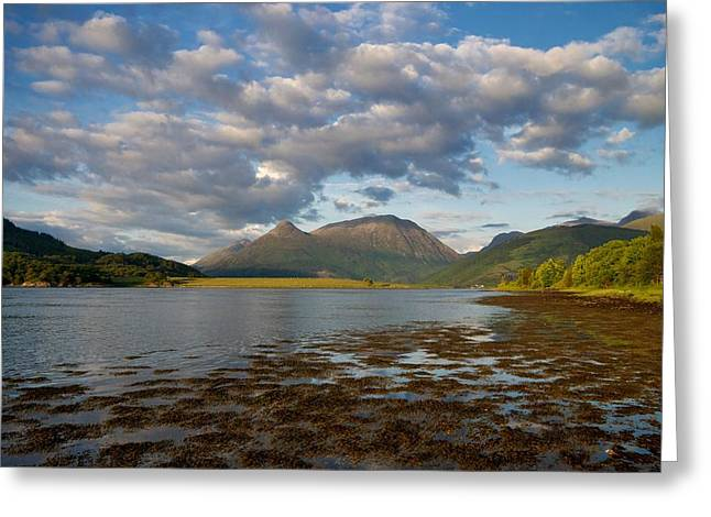Greeting Card featuring the photograph The Pap Of Glencoe by Stephen Taylor