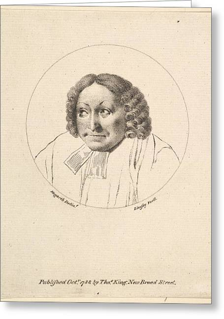 The Parsons Head Greeting Card by after William Hogarth