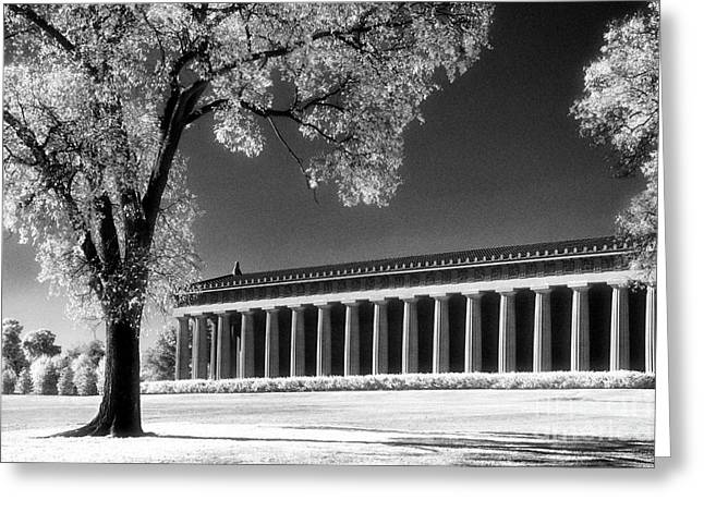 The Parthenon Greeting Card by Jeff Holbrook