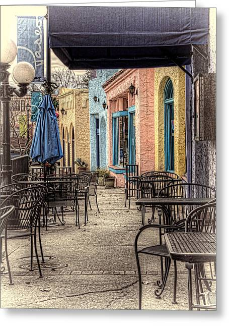The Paseo Greeting Card