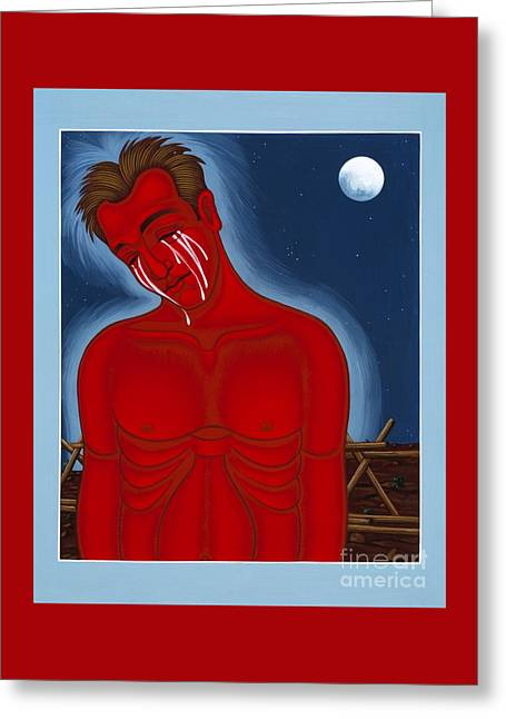 The Passion Of Matthew Shepard 096 Greeting Card