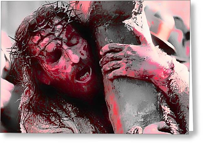 The Passion Of The Christ 'for Our Sins' Greeting Card