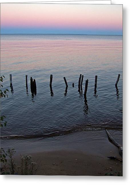 The Pastel Palette Of Whitefish Bay Greeting Card