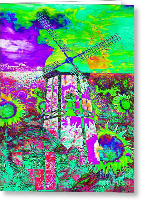 The Pastoral Dreamscape 20130730m135 Greeting Card