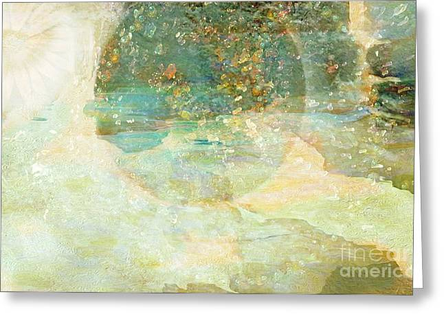 The Path To Eternity Greeting Card by Sherri  Of Palm Springs