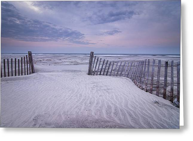 The Pathway Greeting Card by Steve DuPree