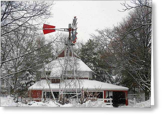 The Pavilion Greeting Card by Teresa Schomig