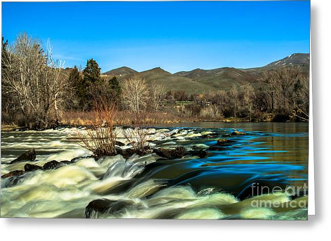 The Payette River Greeting Card by Robert Bales