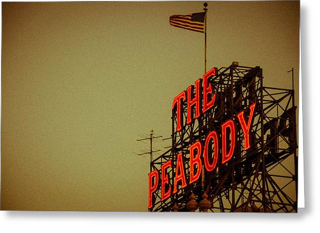 The Peabody Greeting Card