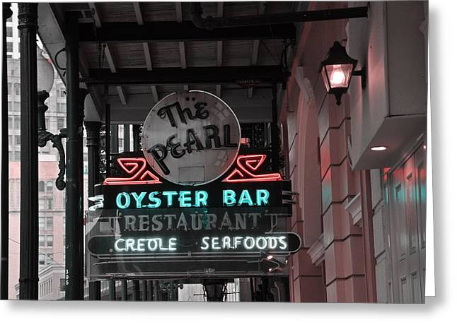 The Pearl Oyster Bar Greeting Card